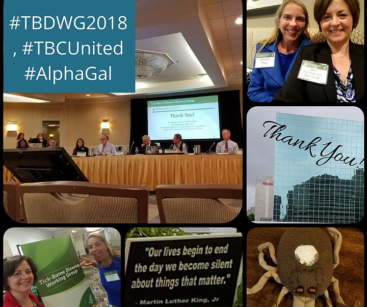 6/21/18 – Tick-borne Disease Working Group (TBDWG) Public Meeting